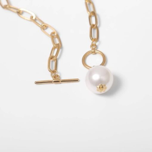 Imitation Pearl Pendant Necklace for Women Necklaces