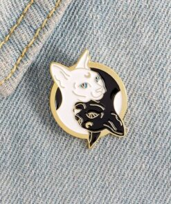 Sphinx Cat Shaped Pin Brooches
